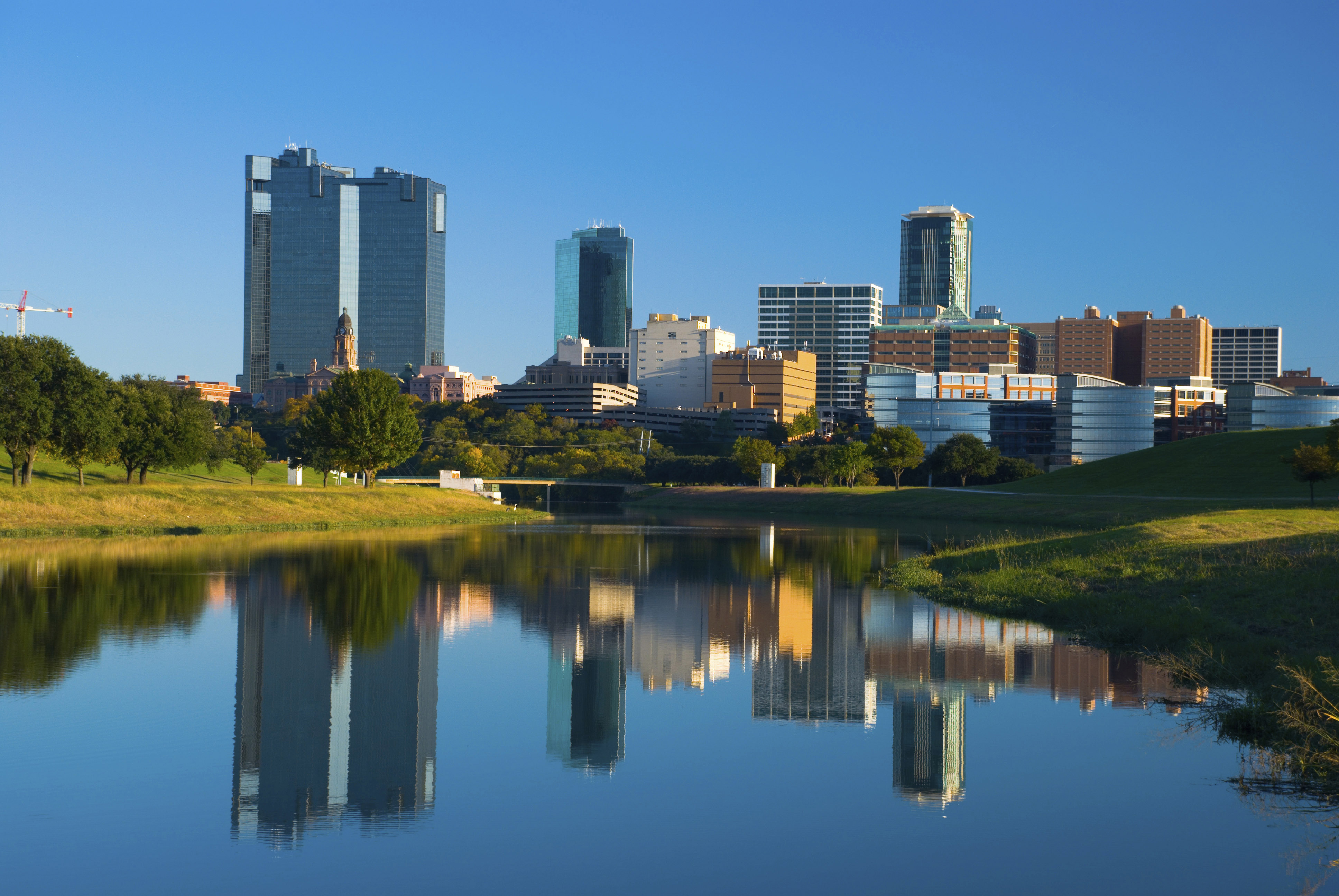 Fort Worth Skyline And River Classic Superoof Fort